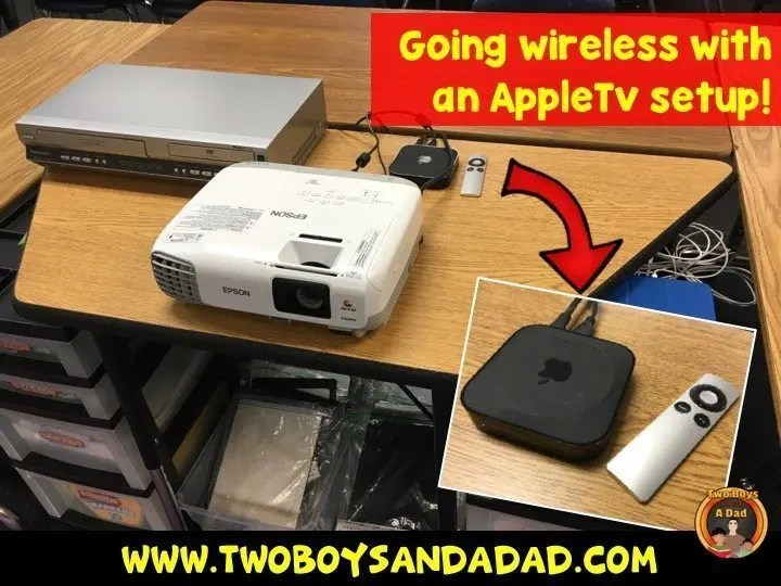 Using an AppleTv to go wireless