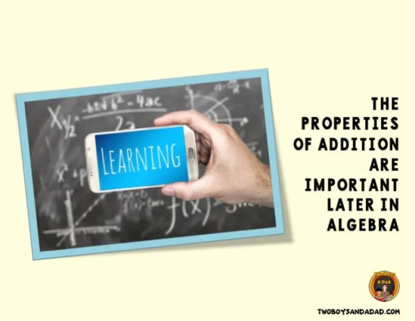 The Properties of Addition and Algebra