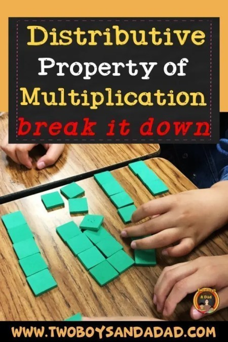Breaking down the Distributive Property of Multiplication