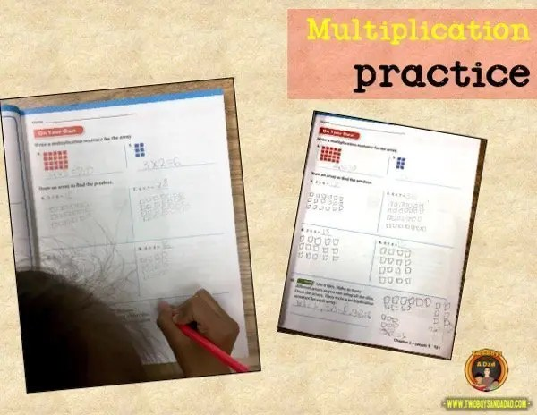 learning multiplication practice