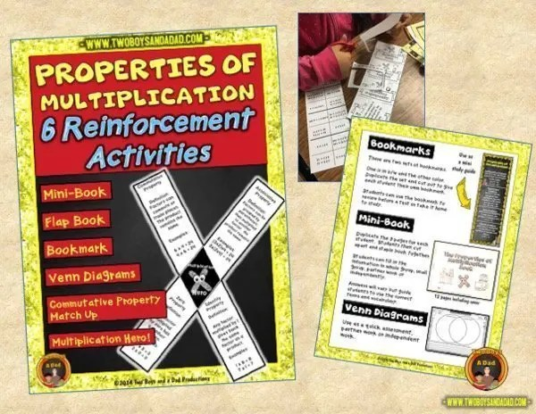 learning multiplication properties of multiplication practice