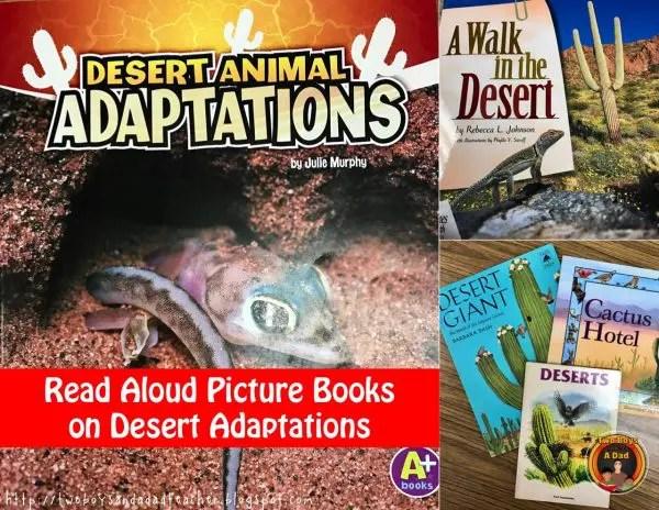 desert adaptations books