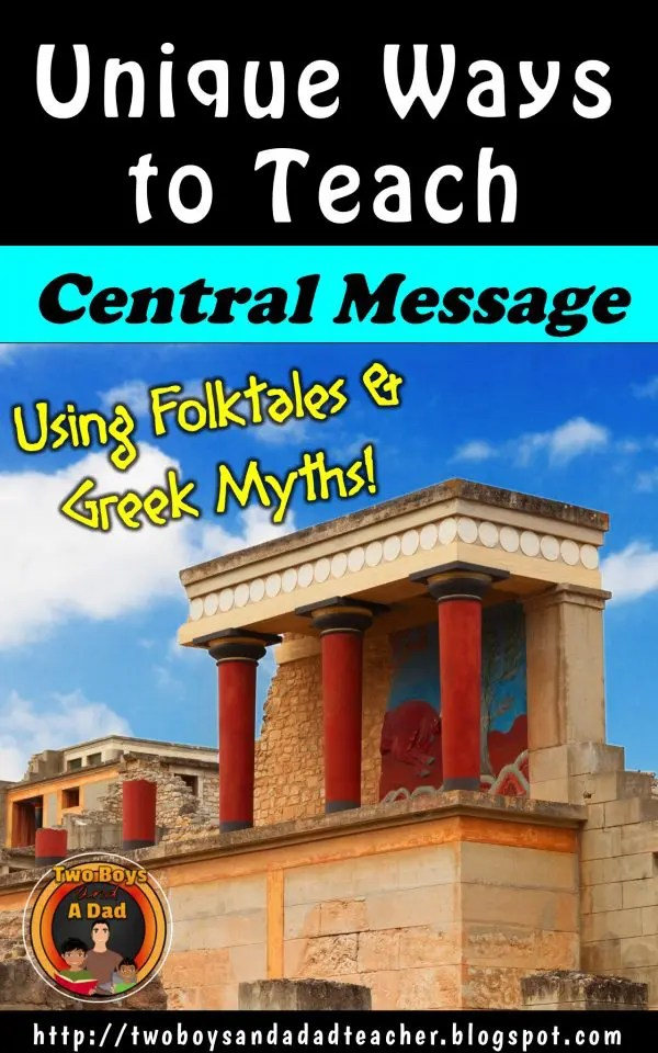 Unique Ways to Teach the Central Message of Folktales