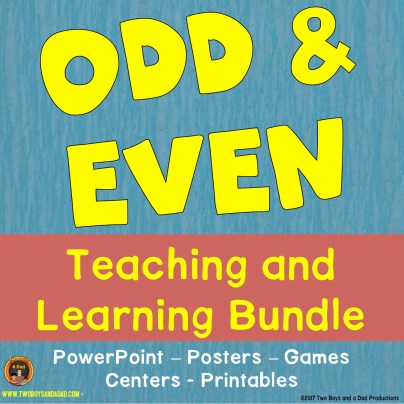 odd and even learning bundle