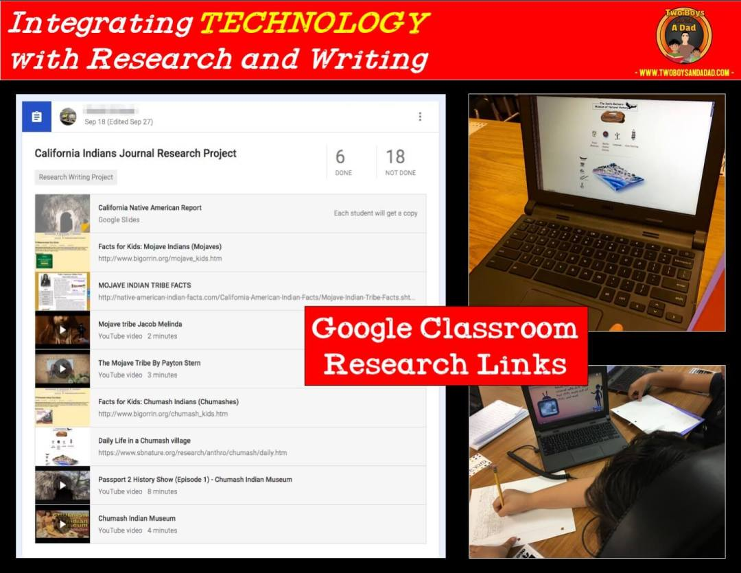 Using videos as part of a research project integrating technology