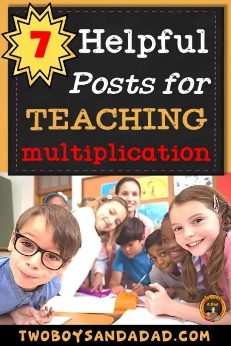 7 helpful posts for teaching multiplication