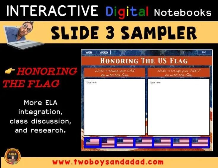 Digital Notebook Sampler Slide 3