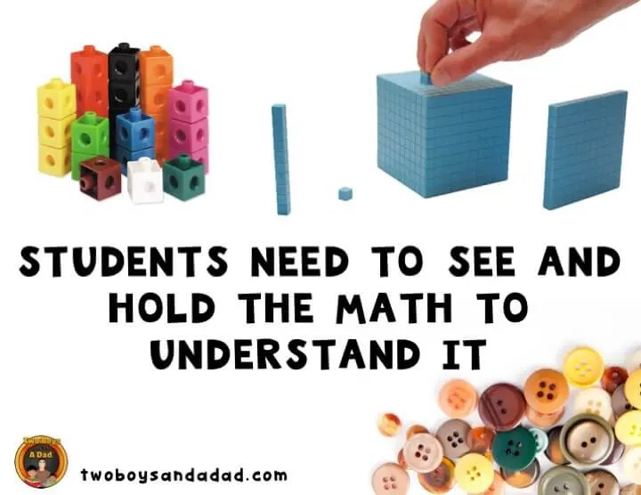 Using math tools to build conceptual understanding