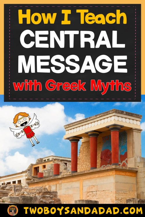 small resolution of Teaching the Central Message with Awesome Greek Myths - Two Boys and a Dad