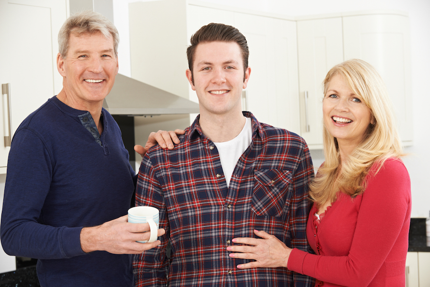 Millenials Really, Really Good at Living with Parents