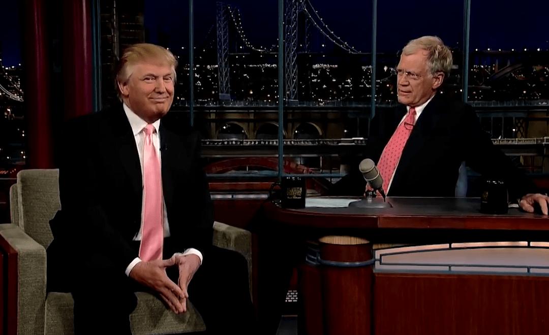 David Letterman vs. Trump