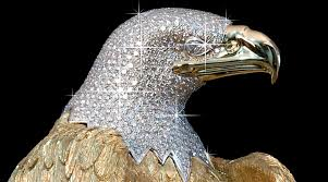 What Would You Do With A Diamond Encrusted Eagle?