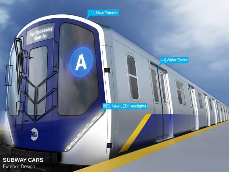 Hell Yes: Governor Cuomo Unveils Plans to Redesign NYC's Subway Cars