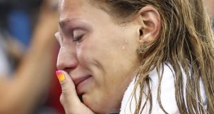 Russian-Yulia-Efimova-separates-in-tears-in-the-wake-of-losing-to-Lilly-King-300x160
