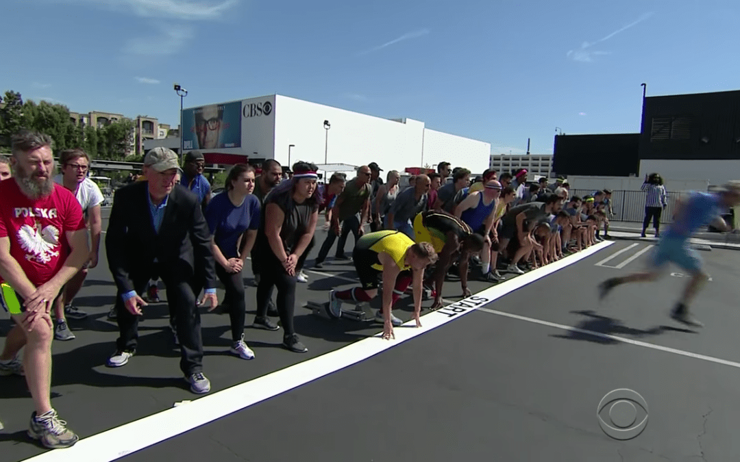 Late Night In The Morning – James Corden, Owen Wilson Race Against Usain Bolt