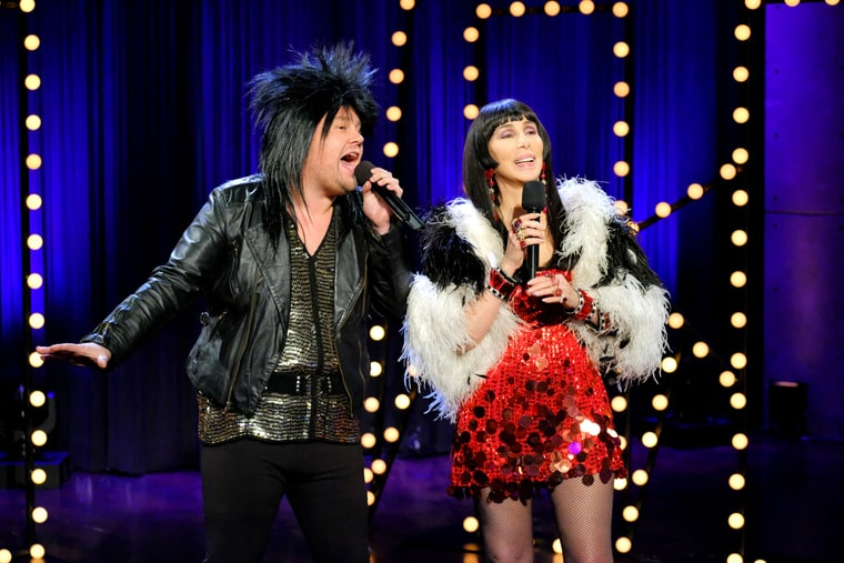 """Late Night In The Morning – Cher Performs Her 1965 Hit """"I Got You Babe"""" With Modern Lyrics, """"I Got You Bae"""""""