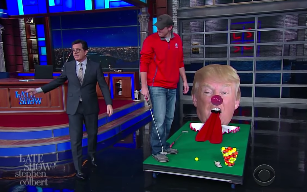 Late Night In The Morning – A Heckler Interrupts Stephen Colbert's Show, Nails Topical Humor