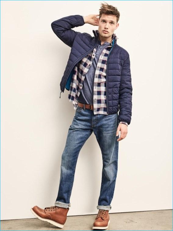 gap-mens-flannel-gingham-shirt