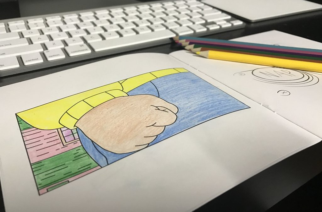 There's A Coloring Book Of Popular Memes Because Of Course There Is