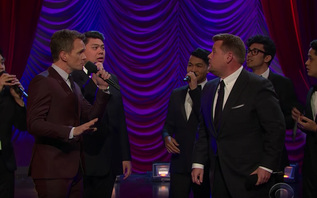 Late Night in the Morning – Broadway Riff-Off With Neil Patrick Harris & James Corden