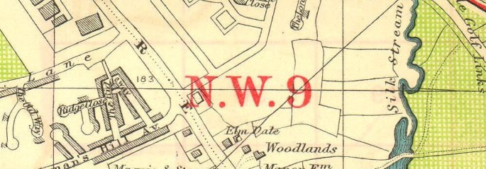nw-london-hendon-aerodrome-kingsbury-green-the-hyde-bacon-1928-vintage-map-2-261858-p