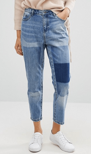 Only Tonni Boyfriend Jean with Patch Detail, ASOS   $61