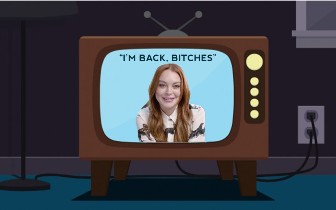 Lindsay Lohan Is Back With A New TV Show