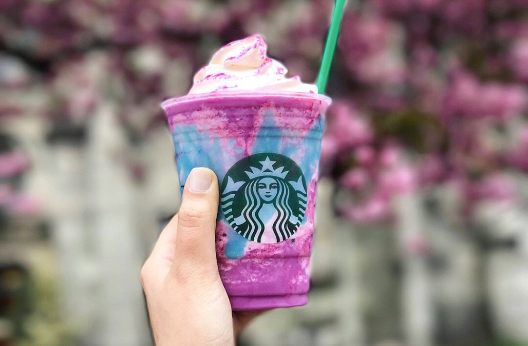 I Tried The Starbucks' Unicorn Frappuccino And It Tastes Like Unicorn Vomit