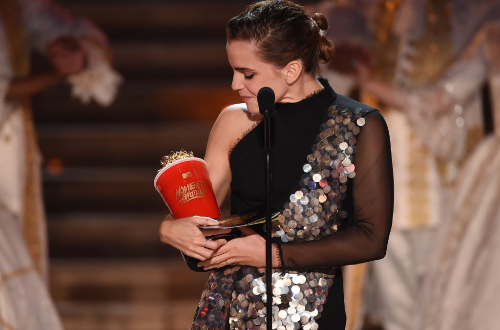 Emma Watson Winning a Gender Neutral Award Won't Fix Everything, But It's a Step in the Right Direction