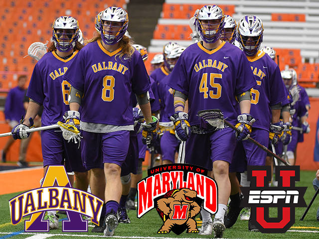 *FACE OFF IN 2 HOURS* – UAlbany Takes On No. 1 Maryland in NCAA Men's Lacrosse Quarterfinal