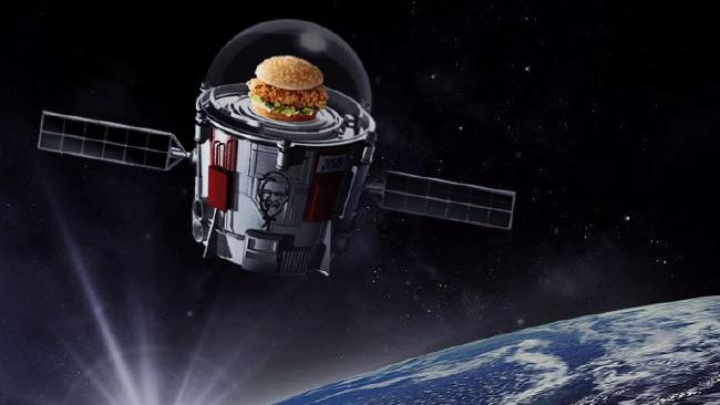 NASA Is Launching A Chicken Sandwich Into The Stratosphere Because Why Not?
