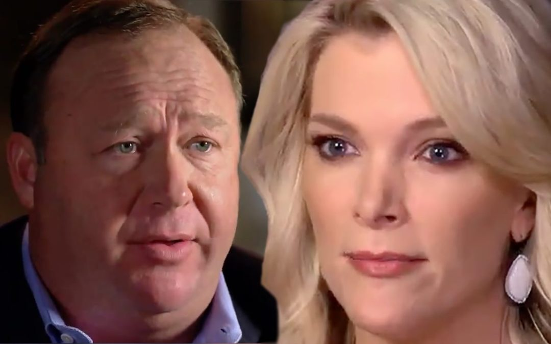 Megyn Kelly Caught On Tape Sucking Up To Alex Jones Is The Epitome of Slimy Journalism