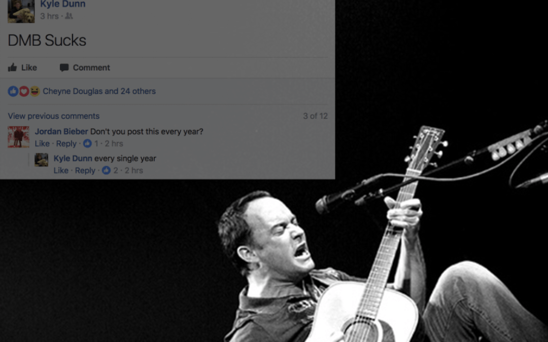 Why I Hate Dave Matthews Band