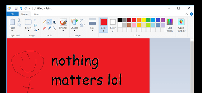 "The Internet Actually Couldn't Handle the ""Death"" of Microsoft Paint, So Now It's Back"