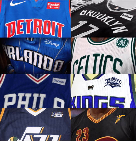 Golden State and More NBA Teams Join the Ad Club in 2017-18 with Sponsored Jerseys and I'm Very Sad