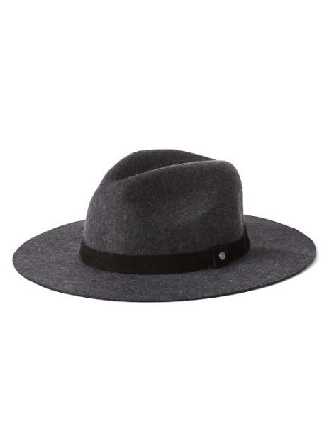 Men's Wool wide-brim fedora, Gap $28 (SALE)