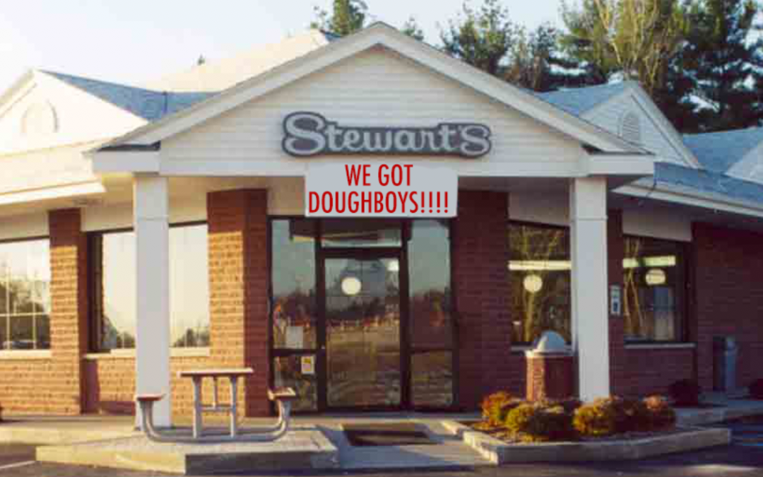 Stewart's Shops is Now Selling Doughboys in What May be the Partnership of the Century