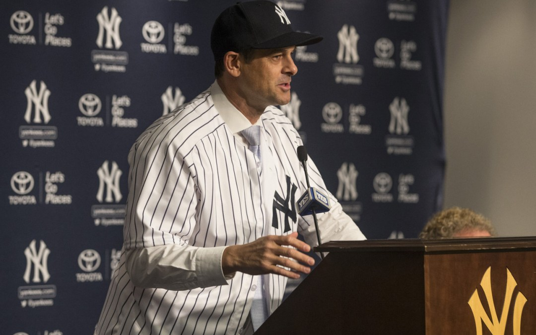 Aaron Boone is the Next New York Yankees Manager, and I am *Nervous*