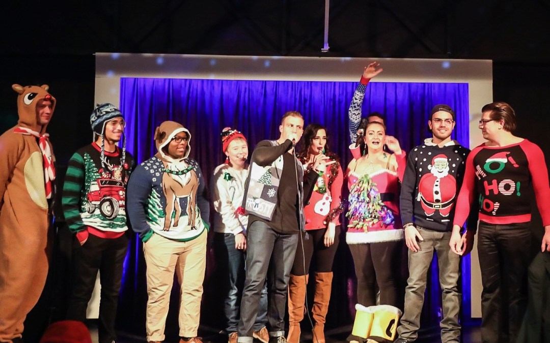 The Official Results Of Our First Annual Ugly Christmas Sweater Contest