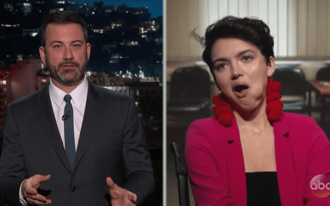 Late Night in the Morning – Kimmel Roasts Bekah M in her First Interview Since Leaving The Bachelor