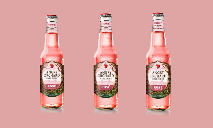 Angry Orchard Jumps on the Rosé Cider Wagon, a Year Behind the Local Trendsetters at Nine Pin