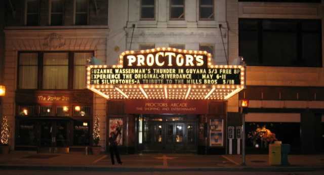 Proctors Announced its 2018-19 Season of Shows and the Marquee is Lit AF