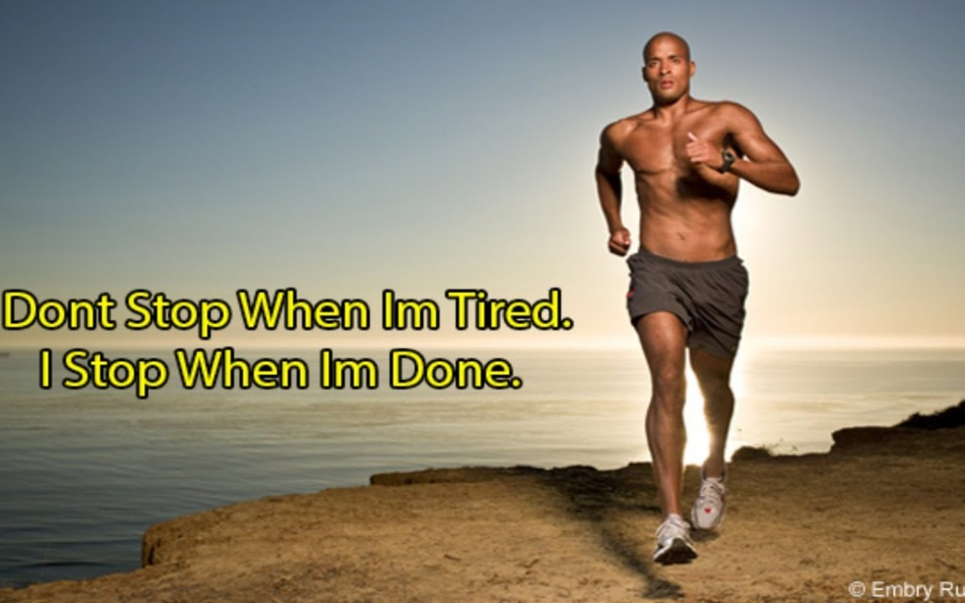 Monday Motivation Featuring David Goggins