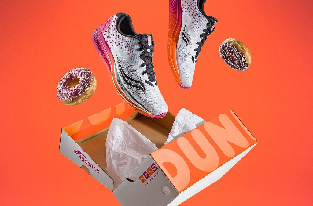 Dunkin' Donuts Announces Sneaker Collab with Saucony for the Boston Marathon