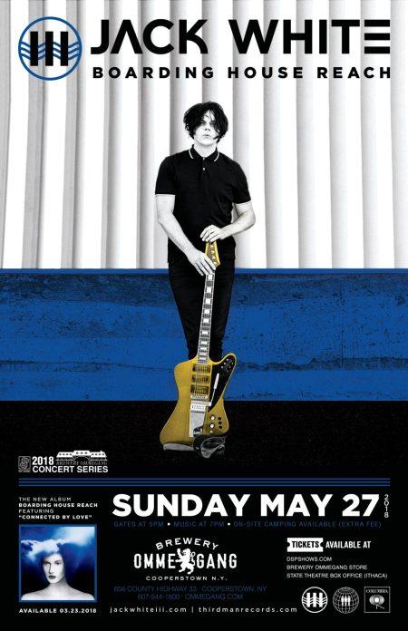 2BD - Ommegang 1_Jack White poster