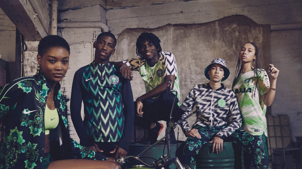 Nigeria's 2018 World Cup Kit is Literally Flames