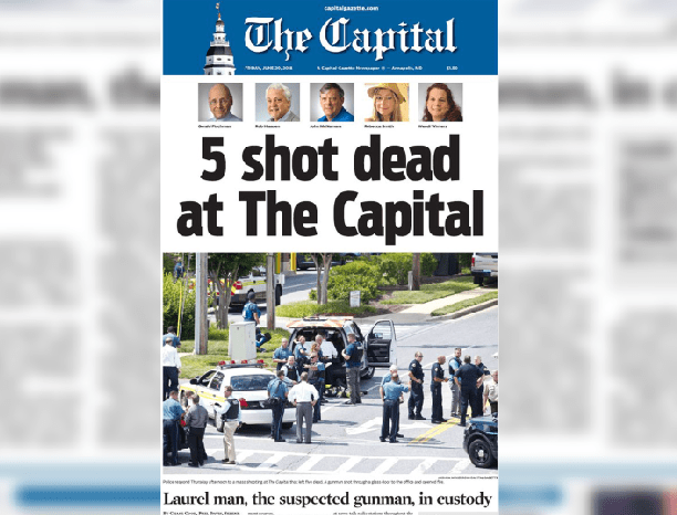 Real News – The Capital Gazette Still Put Out a Paper the Day After a Mass Shooting in Their Building