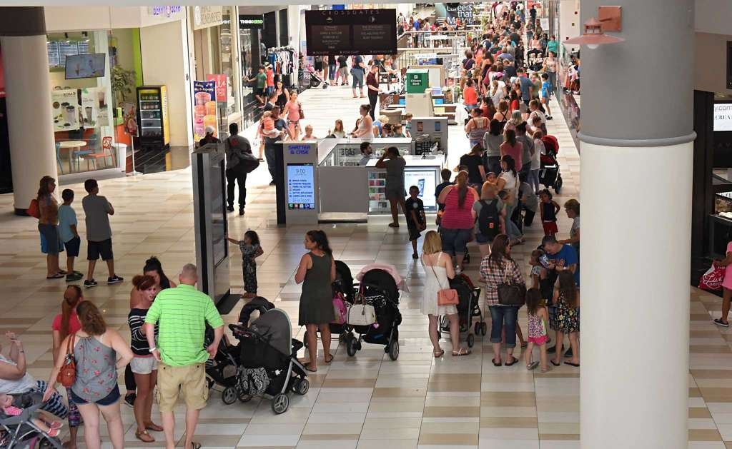 What Would the 2BD Squad Wait in a Line As Long As The Build-A-Bear Line at Crossgates For?