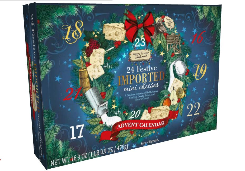 These Wine and Cheese Advent Calendars Will Make All of Us Adults Forget Santa Isn't Real