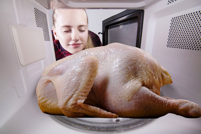 Welp, A Capital Region Man Started A Fire After Cooking A Turkey In The Microwave